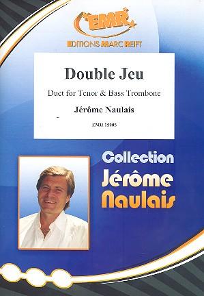 Double jeu: for tenor trombone bass trombone and piano