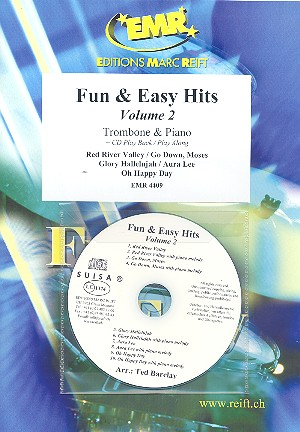 Fun and easy Hits vol.2 (+CD): for trombone and piano