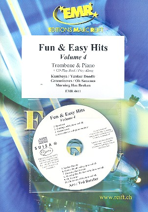 Fun and easy Hits vol.4 (+CD): for trombone and piano