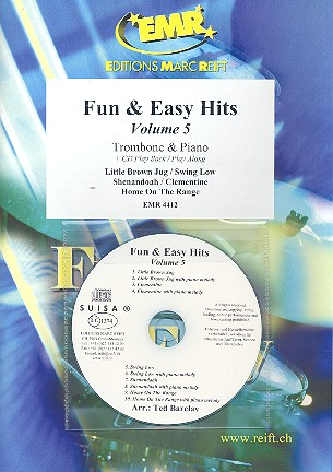 Fun and easy Hits vol.5 (+CD): for trombone and piano
