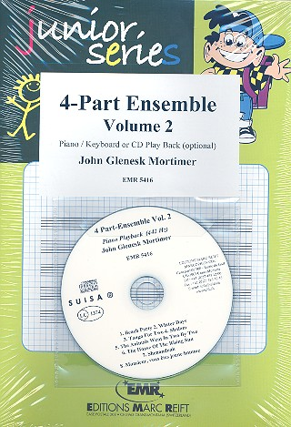 4-Part Ensemble vol.2 (+CD): for 4 parts ensemble and keyboard
