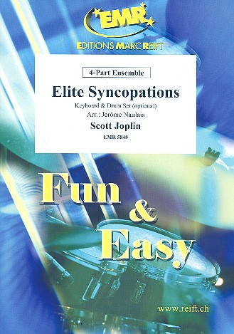 Elite Syncopations: for 4-part ensemble (keyboard and percussion ad lib)