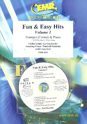 Fun and easy Hits vol.1 (+CD): for trumpet and piano