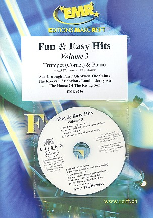 Fun and easy Hits vol.3 (+CD): for trumpet and piano