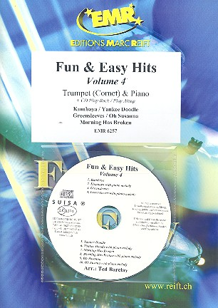 Fun and easy Hits vol.4 (+CD): for trumpet and piano