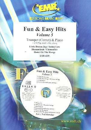 Fun and easy Hits vol.5 (+CD): for trumpet (cornet) and piano