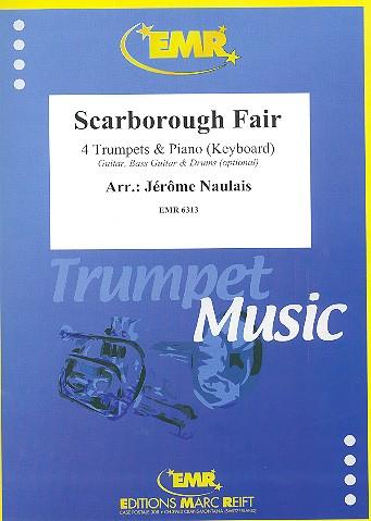 Scarborough Fair: für 4 Trompeten und Klavier (Keyboard) (Percussion ad lib)
