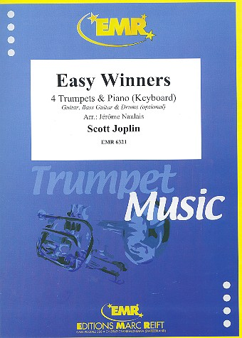 Easy Winners: für 4 Trompeten und Klavier (Keyboard) (Percussion ad lib)
