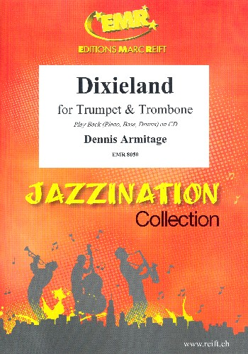 Dixieland: for trumpet, trombone and piano