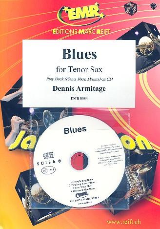 Blues (+CD): für 1-2 Tenorsaxophone und Klavier