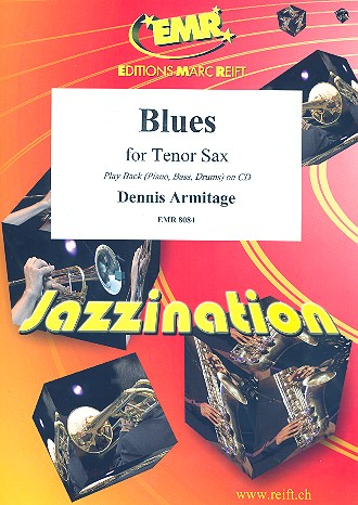 Blues: für Tenorsaxophon und Klavier