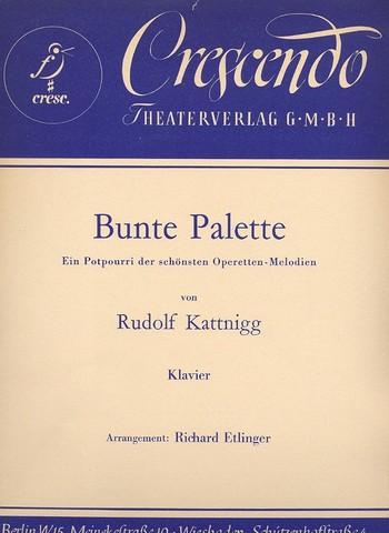 Bunte Palette: für Klavier