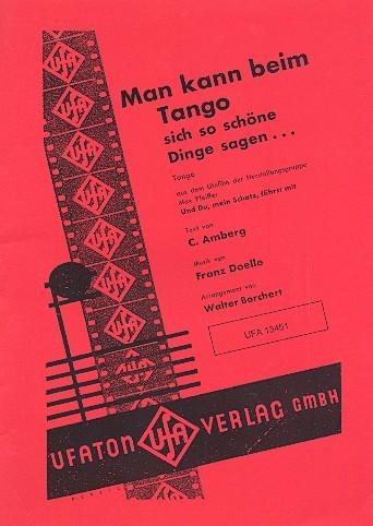Man kann beim Tango sich so schöne Dinge sagen: Salonorchester