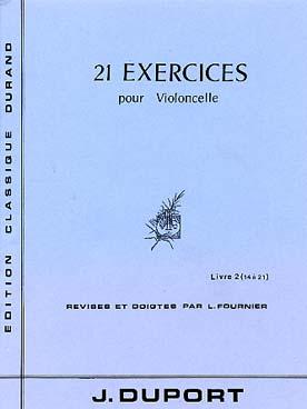 21 Exercices vol 2 (no-14-21): pour violoncelle