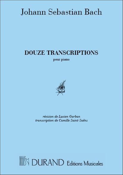 12 Transcriptions: pour piano