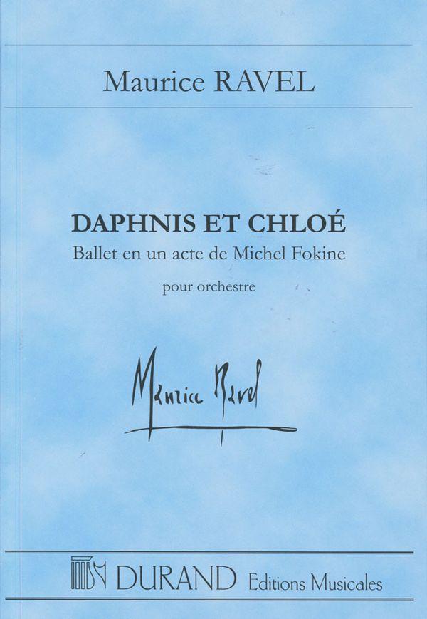 Daphnis et Chloé partition de poche