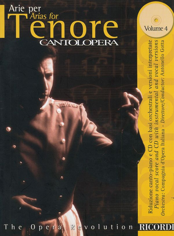 Arias for Tenor vol.4 (+CD): for tenor and piano