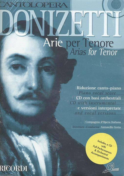 Arias for Tenor (+CD): for tenor and piano