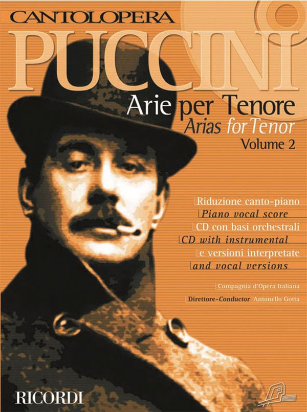 Arias for Tenor vol.2 (+CD): for tenor and piano