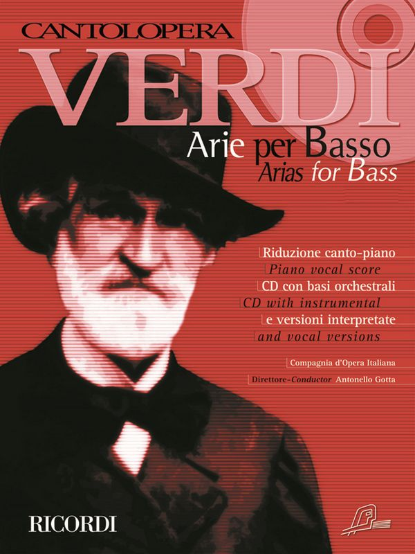 Arias for Bass (+CD): for bass and piano