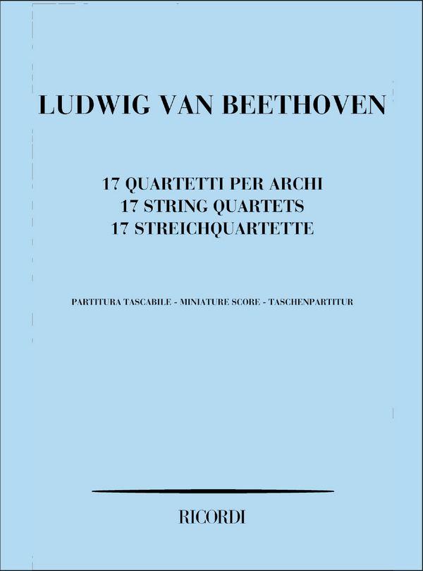 17 Streichquartette