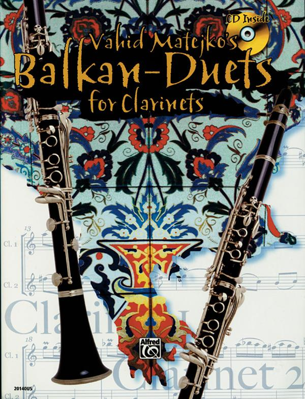 Balkans Duets (+CD): for clarinet