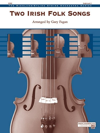 2 Irish Folk Songs: for string orchestra score and parts (8-8-5-5-5)