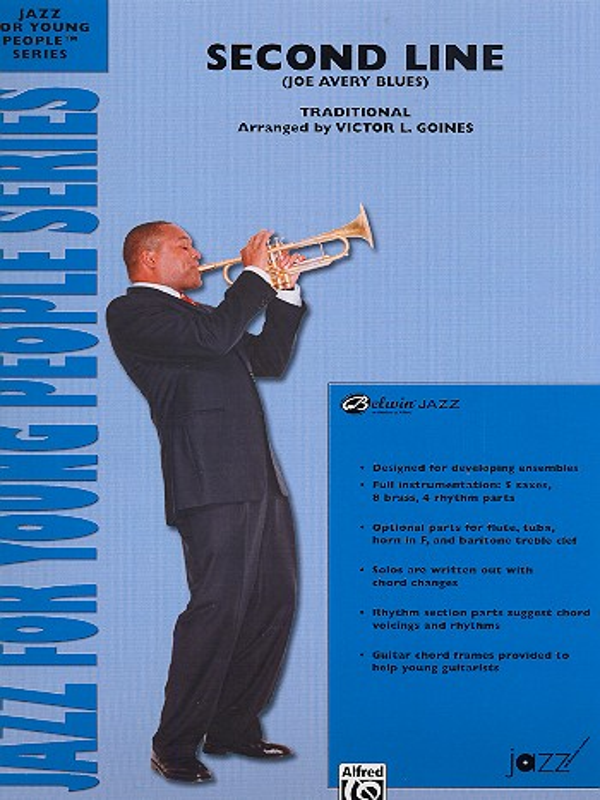 Second Line: for jazz ensemble