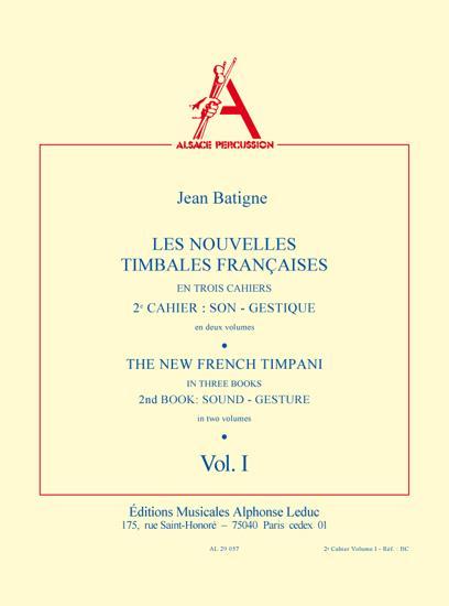 Les nouvelles timbales francaises vol.2,1 (frz/en)