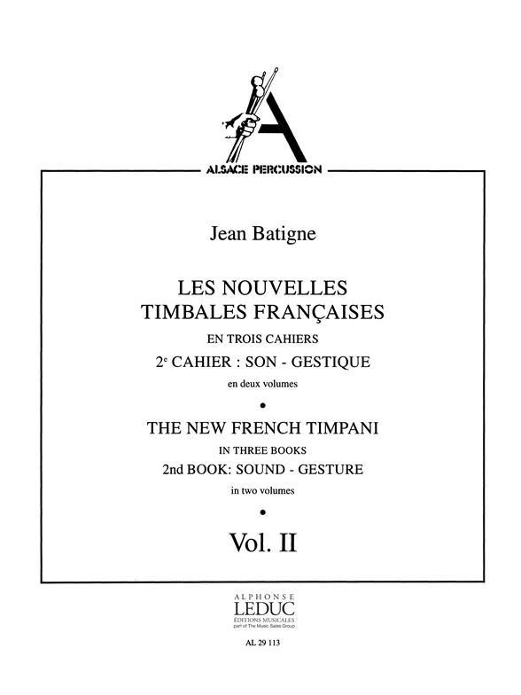 Les nouvelles timbales francaises vol.2,2 (frz/en)