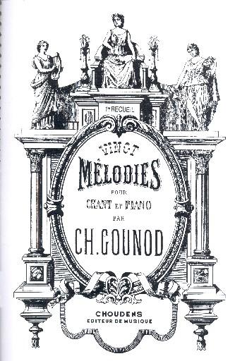 20 mélodies vol.1: pour chant et piano