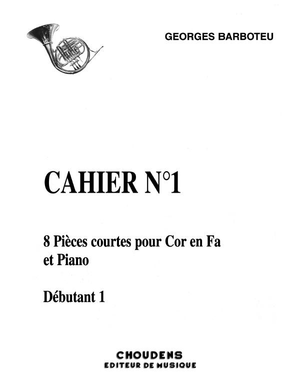 8 pieces courtes vol.1: pour cor et piano