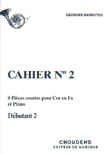 8 pièces courtes vol.2: pour cor en fa et piano