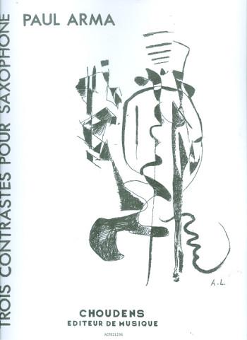 3 contrastes: pour saxophone