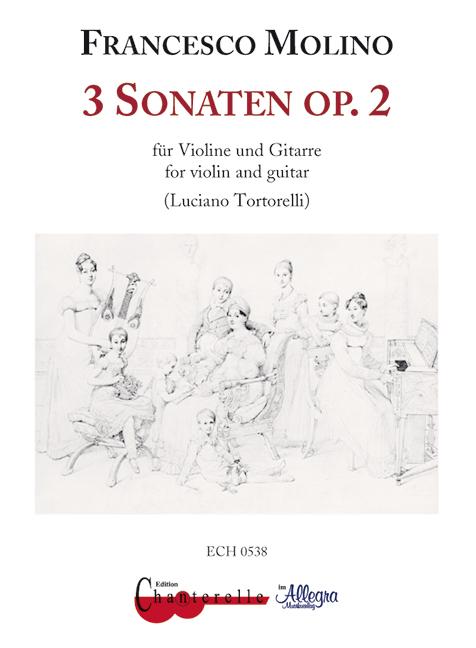 3 Sonaten opus.2: für Violine und Gitarre