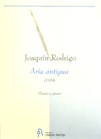 Aria antigua: for flute and piano