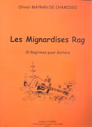 Les Mignardises Rag: pour guitare