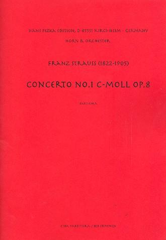 Konzert c-Moll Nr.1 op.8: für Horn und Orchester