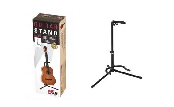 Volt Gitarren-Ständer GS-100 (schwarz, klappbar)