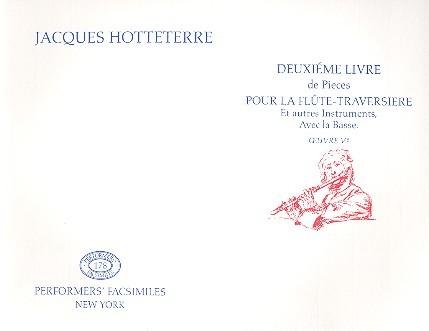 2e Livre de pièces pour la flûte traversière avec la basse op.5