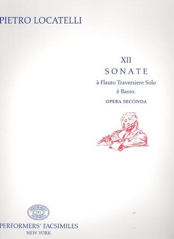 12 Sonate op.2: à flauto traversiere è basso