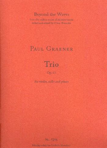 Trio opus.61: für Violine, Violoncello und Klavier