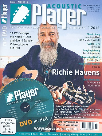 Acoustic Player 1/2015 (+DVD)