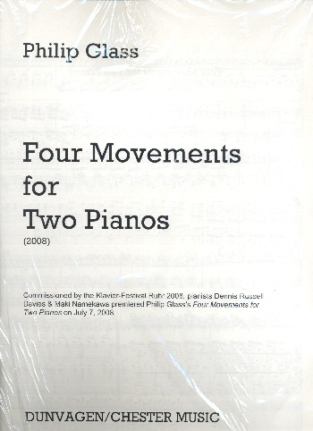 4 Movements: for 2 pianos