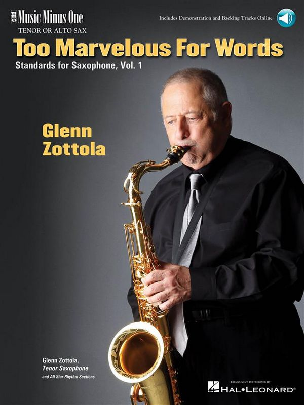 Too marvelous for Words vol.1 (+CD): tenor sax part