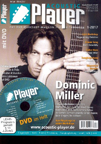 Acoustic Player 1/2017 (+DVD)