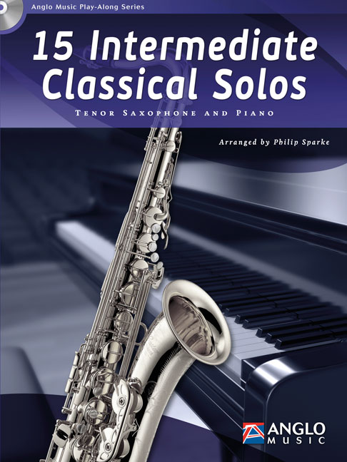 15 intermediate classical Solos (+CD): for tenor saxophone and piano