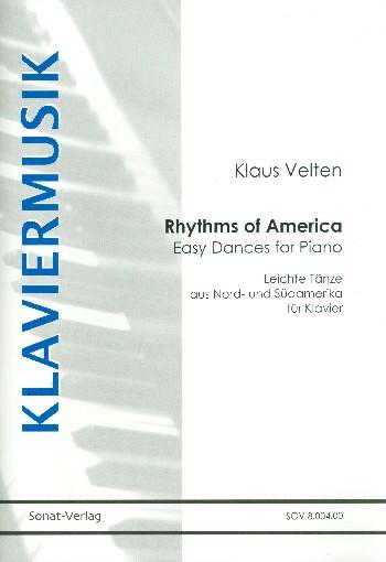 Rhythms of America: für Klavier