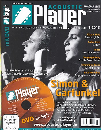 Acoustic Player 3/2015 (+DVD)