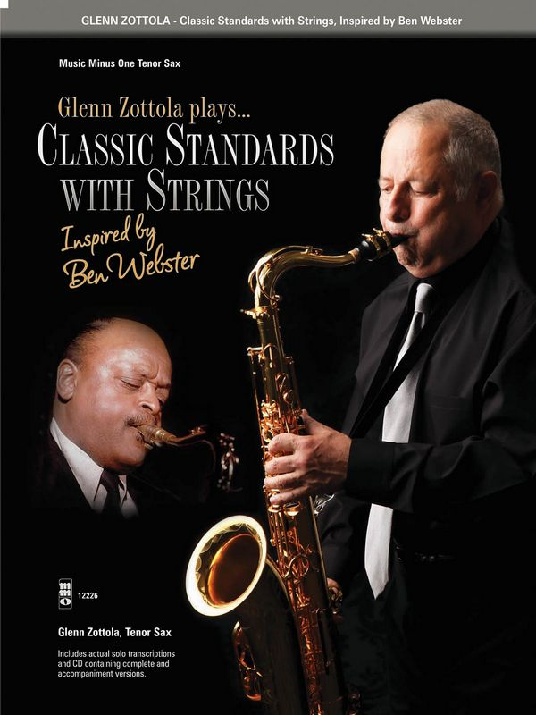 Glenn Zottola plays Classic Standards with Strings (+2 CD\